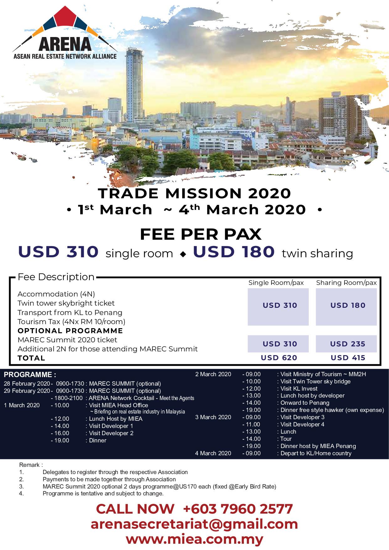 ไปดูงาน Trade Mission to Malaysia
